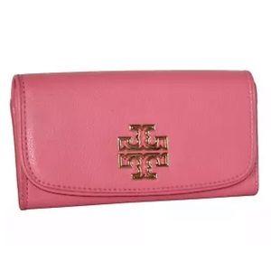 Tory Burch Britton zip Envelope Clutch/Wallet NWT!
